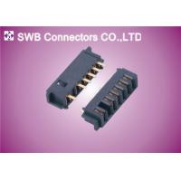 Wholesale MFP Crimp Style Electrical Connectors , PCB Female Battery Connector 6 pin 2.5mm from china suppliers