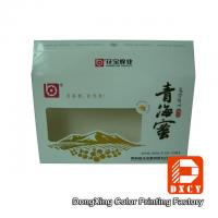 Wholesale Eco Food Packaging Fold Paper Box Hot Foil Stamping With Open Window from china suppliers