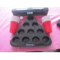 Wholesale 90mm Black Blister Packaging Customized For Beer Pong Kits PET from china suppliers