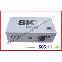 Quality Cardboard Electronic Packaging Rigid Gift Boxes with Silver Printing for sale