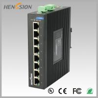 Wholesale 8 Port  RJ45 unmanaged full Managed Gigabit Ethernet Switch , industrial Din rail switch from china suppliers
