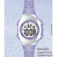 Wholesale Waterproof Sport Womens Digital Watches With Dual Time EL Light from china suppliers