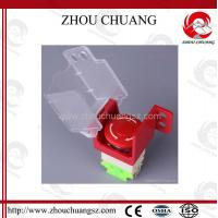 Wholesale Useful Safety Universal Emergency Stop Lockout Used With Padlock,50mm*47.3mm*50mm from china suppliers