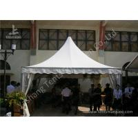 Wholesale Outdoor Soft PVC Window Pressed High Peak Tents Aluminum Alloy Frame from china suppliers