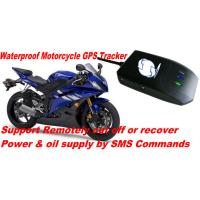 Wholesale Waterproof Motorcycle Mini GSM SMS GPRS GPS Tracker Locator W/ Cut-off Oil & Power By SMS from china suppliers