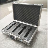 Quality 4 Pieces in 1 Microphone Flight Case and Tool Case Double-Box Aluminum Tool Box for sale
