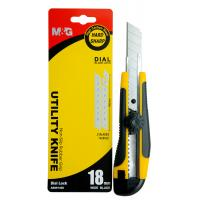 Wholesale Easy Cutter Durable Utility Knife Steel Blade Abs Case Heavy Duty Plastic Barrel from china suppliers