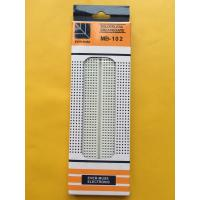Wholesale 830 Tie Point  White Electronic Solderless Breadboard used to experiment , universal board from china suppliers