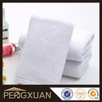 Quality 21s/2 embroidery and jacquard towels hotel white hand towels for sale with 100% cotton PXFT2 for sale