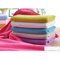Quality Dye Yarn Terry Custom Microfiber Towels With Embroidered Logo for sale
