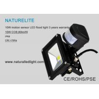 Quality Motion Sensor PIR 10W Led Flood Lights Super Bright Cool White for Park, Landscape Lighting, ect for sale