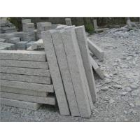 Wholesale Grey Granite palisade surface finished pineapple, Grey Kerbstones from china suppliers
