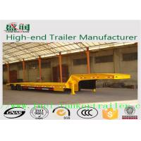 Wholesale SKW9402TDP 40T 3 axles low bed semi trailer truck with Mechanical suspension from china suppliers
