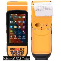 Wholesale Industrial Phone Pos Terminal Android Barcode Scanners And Handheld Thermal Printer In One from china suppliers