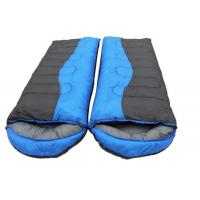 Wholesale Wide Big Jointed Silk Outdoor Sleeping Bags For Double Person Cold Weather from china suppliers