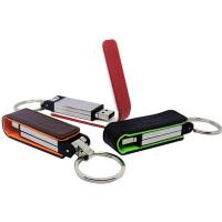 Wholesale New design mini hi-speed leather USB flash disk 1GB - 32GB with embossed or printed logo from china suppliers