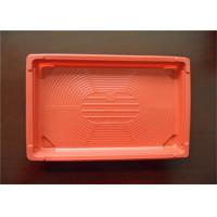 Wholesale Customized Size PS Foam Tray , No Harm Plastic Trays For Food Keep Cleanness from china suppliers