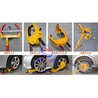 Wholesale Unique Special Lock Steel Car Wheel Clamp Anti theft , Good Painting from china suppliers
