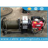 Wholesale 3 Ton Fast Speed Diesel Engine Cable Pulling and Hoisting Winch Machine from china suppliers