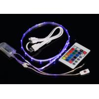 USB 3.7V Rechargeable Waterproof Led Strip Lights With Remote Control