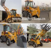 Wholesale 4WD 1.5T wheel loader ZL15F with optional accessories from china suppliers