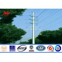 Wholesale NEA Steel poles 20m Stee Utility Pole for electrical transmission from china suppliers
