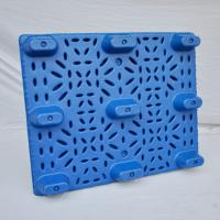 Wholesale 1100*1100*150mm Cheap Used Heavy Duty Blow Molding Plastic Pallets for Sale from Jiangsu China from china suppliers