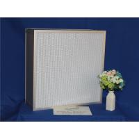 High Efficiency HEPA Furnace Filter Deep Pleat For Cleaning Equipments