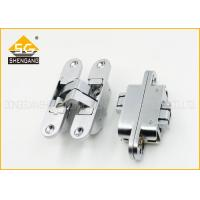 Wholesale 180 Degree Adjusted Invisible Door Hinges Support Copper / Brass Finishing from china suppliers
