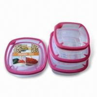 Wholesale Food Storage Container Sets in New Design, Includes 3 Pieces from china suppliers