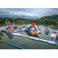 Wholesale 0.6 - 0.9mm PVC Inflatable Floating Water Park With Printing Logo from china suppliers