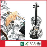 Wholesale Student Violin With Skull Design,Your Personalized Musical Instrument from china suppliers
