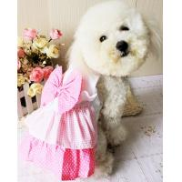 Wholesale 2012 cute pink dog skirt dog clothes from china suppliers