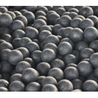 Wholesale OD 20-150mm Forged Steel Grinding Balls Surface Hardness 58-65HRC Volume Hardness 57-64HRC from china suppliers