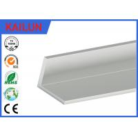 Wholesale Natural Silver Anodized Aluminium Angle , Furniture Aluminum Corner Profile 50 X 50 X 6 MM from china suppliers