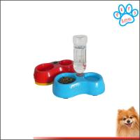 Wholesale Free Shipping dogs drinking water Dispenser Feeder Utensils Bowl from china suppliers