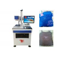 Wholesale T - Shirt Co2 Laser Marking Machine , Laser Printing Machine For Clothes from china suppliers