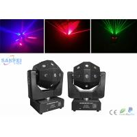 Wholesale DMX512 16pcs * 3W LED Beam Moving Head Light with Red Green Laser Effet from china suppliers