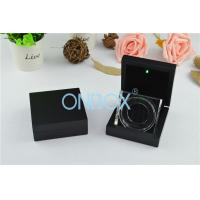 Wholesale Luxury Painting Wooden Boxes LED Coin Display Box With Acrylic Display Stand from china suppliers