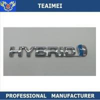 Wholesale Custom 3D ABS Chromed Car Letter Emblems Auto ABS Badge Stickers Car Emblems from china suppliers