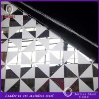 Quality 304 316 201 8k mirror acid etched stainless steel unique design from China manufacturers for sale