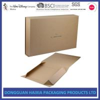 Wholesale Easy To Take Foldable Packaging Boxes , Collapsible Gift Boxes Eco Friendly from china suppliers