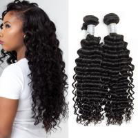 Wholesale Peruvian Deep Wave Hair 100% Human Hair Weave Peruvian Curly Hair Extensions from china suppliers