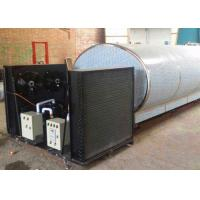 Wholesale 10T Horizontal Direct Type Milk Cooling Tank For  Dairy Farm , Double - Walled from china suppliers