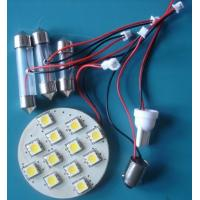 Wholesale Customizable portable pure white 90 degree 3528smd 12leds led car interior dome lights bulbs from china suppliers