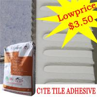 Wholesale Heat Proof Exterior Tile Cement Based Adhesive For Swimming Pool , High Strength from china suppliers
