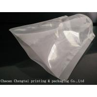 Quality High Barrier Transparent Stand Up Pouches / Coconut Oil Packaging Pouches for sale