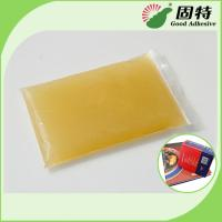 Buy cheap Light Amber Block Bookbinding Hot Melt Adhesive Glue , Animal Hide Glue from wholesalers