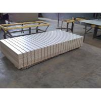 Wholesale Plain / Melamine Faced Slot Mdf Boards For Display Rack , Storage Cabinet from china suppliers