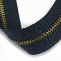Quality Metal Zipper with Slider and Strong Strength, Customized Lengths are Accepted for sale